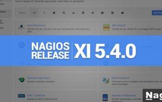 Nagios XI 5.4.0 Release