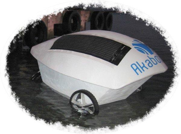 Robots go swimming