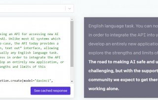 openAI API